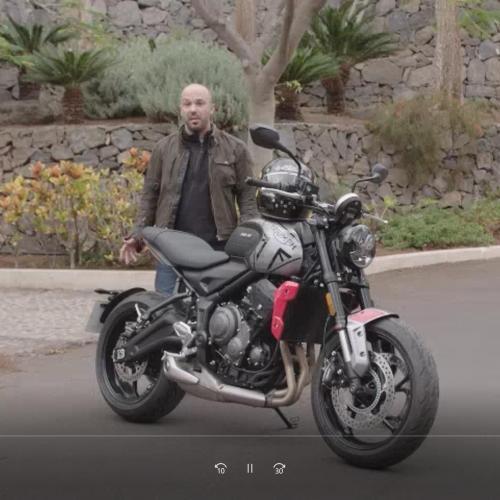 A nova Triumph Trident 660 em vídeo