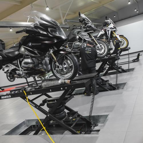 Grupo Jomotos tem novo espaço para receber a sua moto