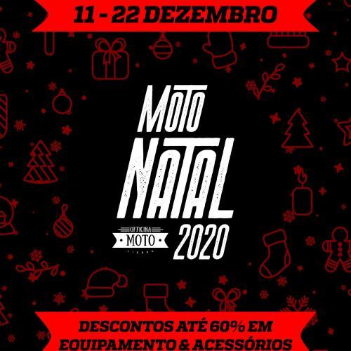 Officina Moto e Moto Spazio vão ter Moto Natal 2020