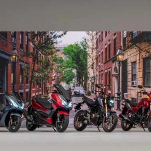 Honda tem gama completa de motos 125 cc com carta A1