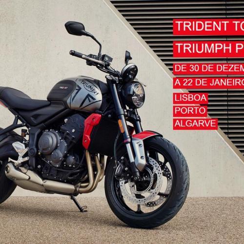 Trident Tour mostra a nova Trident 660 por todo o país