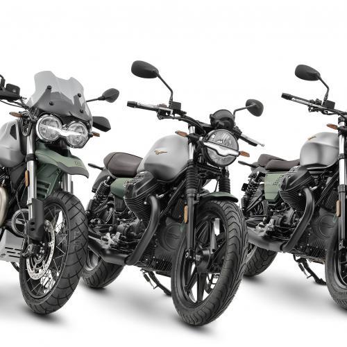Moto Guzzi comemora 100 anos com várias séries especiais
