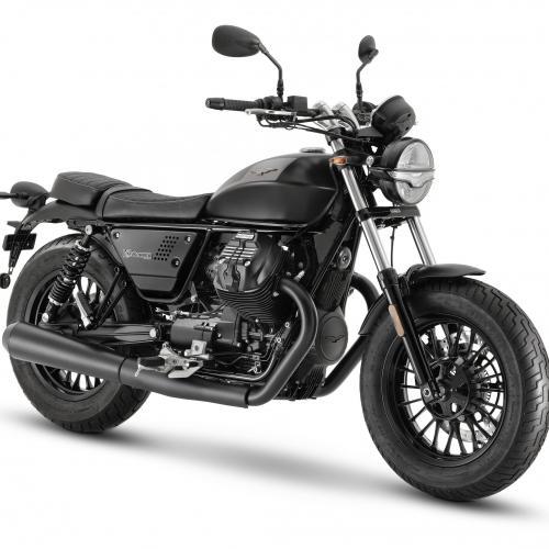 Moto Guzzi V9 ganha alterações para 2021