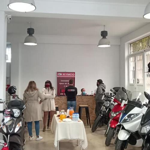 NNmotosusadas inaugurou  concessionário oficinal KYMCO e MACBOR