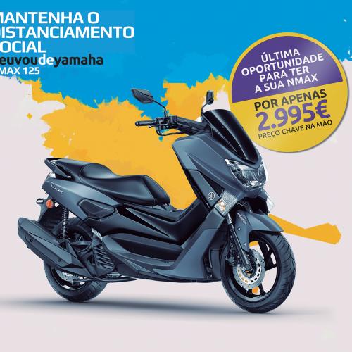 Tenha uma Yamaha NMAX 125 por 2995 euros
