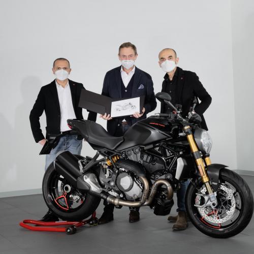 Ducati Monster chega às 350 mil unidades