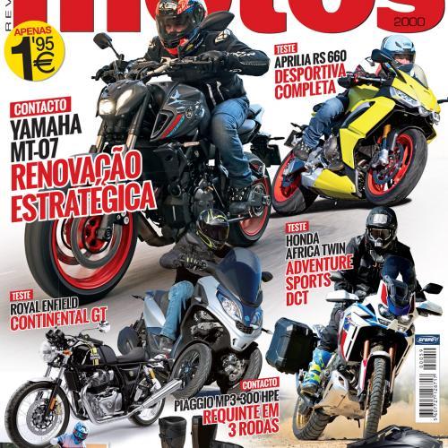 Revista Motos de fevereiro chega amanhã às bancas