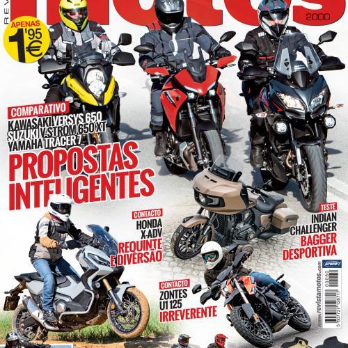 Edição 60 comemora os 5 anos de revista Motos