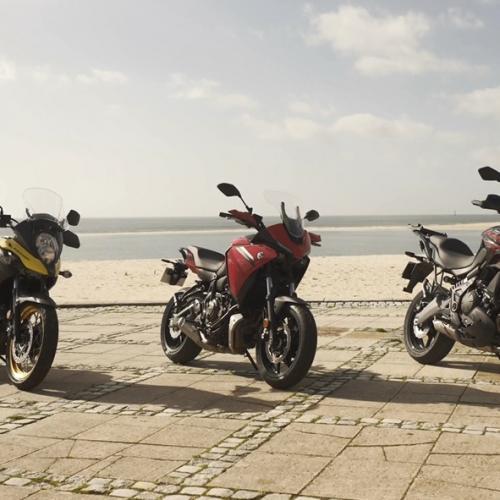 Não perca o comparativo entre estas três versáteis trail na próxima edição da Revista Motos