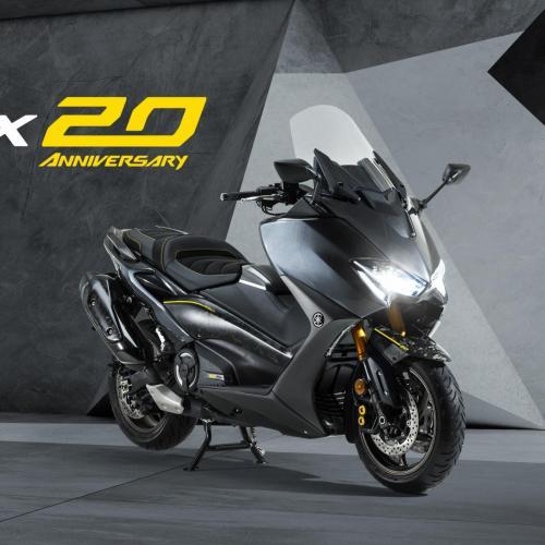 Sistema de reservas online da Yamaha TMAX 20th Anniversary já está disponível