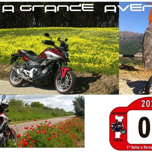 Primeira Moto-Volta a Portugal Honda NC é já em maio