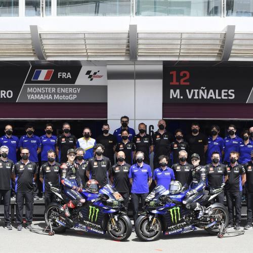 Axalta e Yamaha Factory Racing MotoGP mantêm parceria na temporada de 2021