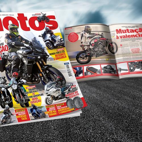 Revista Motos de maio chega a amanhã às bancas
