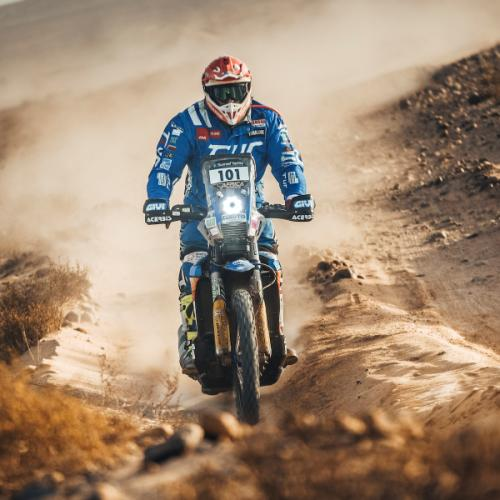 Novas classificações para pneus offroad de moto da Dunlop