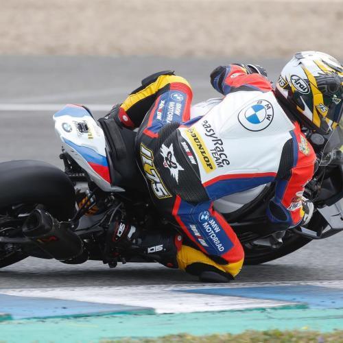 BMW Motorrad Eni e easyRace Team juntas no Estoril