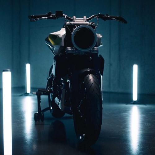 Husqvarna mostra concept de moto elétrica E-Pilen