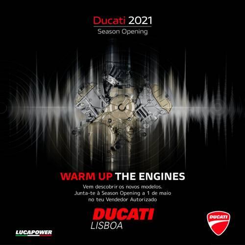 Ducati mostra novidades ao público já no dia 1 de maio em Lisboa