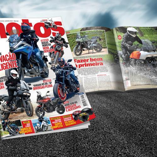Revista Motos de junho amanhã nas bancas