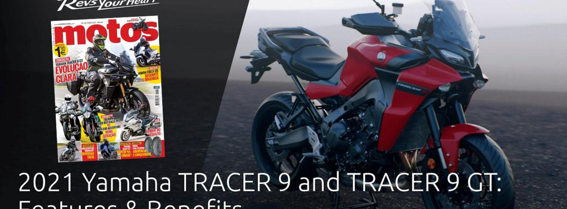 Yamaha TRACER 9 e TRACER 9 GT – Caraterísticas (Video)