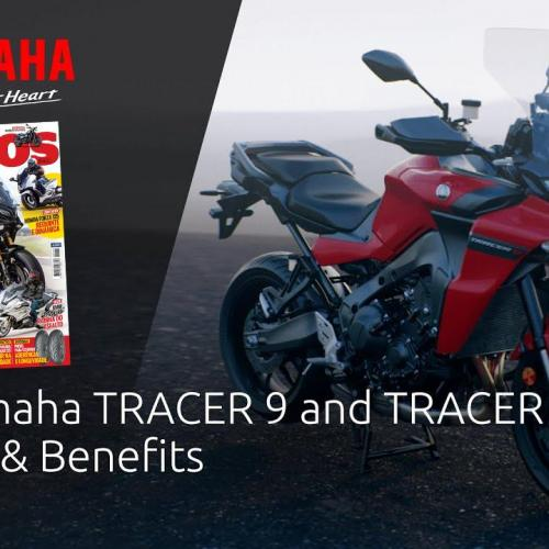 Yamaha TRACER 9 e TRACER 9 GT – Caraterísticas (Video)