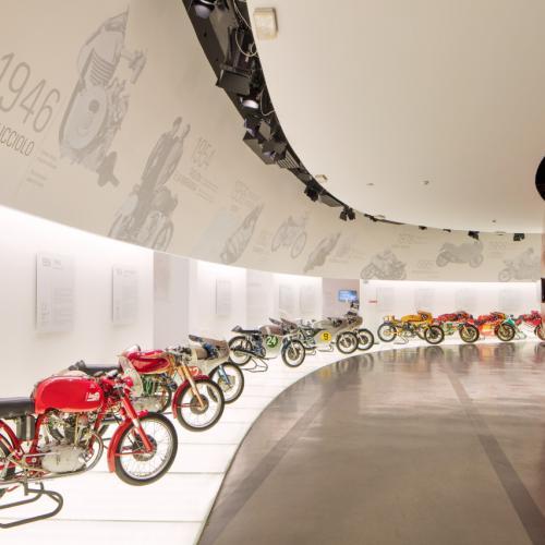 Museu Ducati reabre dia 21 de maio