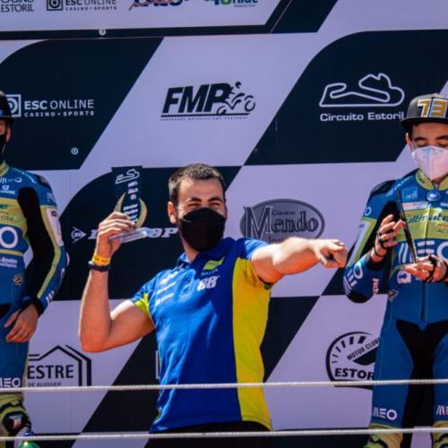 Dupla da Miguel Oliveira Fan Club Racing Team termina Estoril no pódio