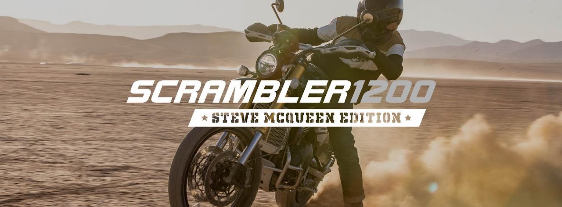 Triumph Scrambler 1200 Steve McQueen Edition (Video Oficial)