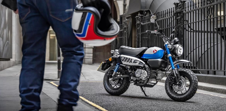 Honda renova icónicas Super Cub e Monkey para a Europa