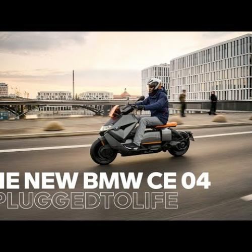 Nova BMW CE 04 – Poderosa e Energética (Video Oficial)