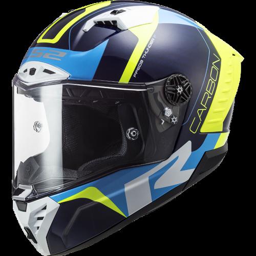 Novo capacete FF805 Thunder Carbono da LS