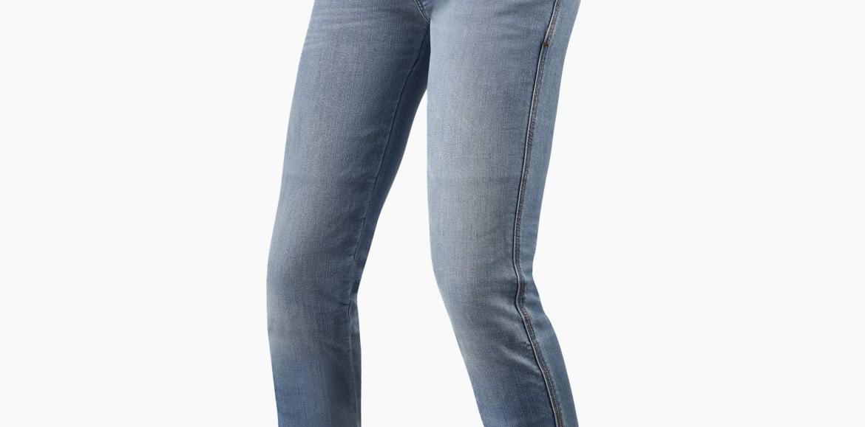 Novos jeans Shelby para elas da REV´IT