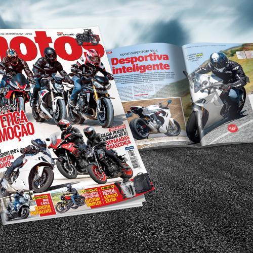 Revista Motos de Setembro nas bancas