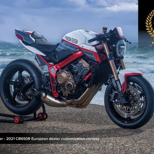 Honda Mototrofa vence Concurso Europeu de personalização da CB650R