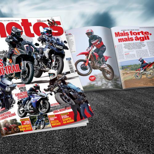 Revista Motos de Outubro amanhã nas bancas