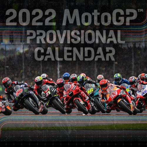 FIM anuncia calendário provisório do Moto GP para 2022
